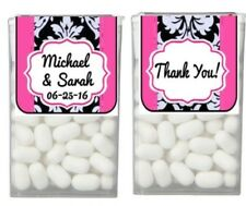 28 Wedding Bridal Shower Birthday Favor TIC TAC LABELS Stickers ANY COLOR