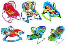 Baby Unisex Musical Rocker Bouncer Chair Infant to Toddler Vibration