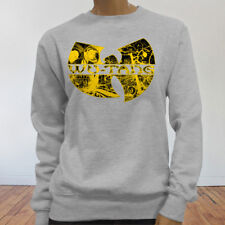 Rap Hip Hop Gza Rza ODB WU TANG CLAN COMICS Womens Gray Sweatshirt
