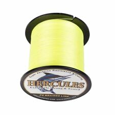 4S Fluorescent Yellow 100M 300M 500M 1000M FISHING LINE PE DYNEEMA SPECTRA BRAID