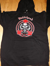 MOTORHEAD Pullover Hooded Sweatshirt Hoodie *NEW band tour concert Med M