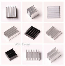 5PCS IC Heat sink Aluminum Cooling Fin 3M8810 High Thermal Adhesive Professional