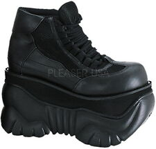 Rugged Platform Lace Up High Ankle Top Sneakers Boots Shoes Adult Men