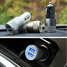 Dual 2 Port USB Car Charger Adapter For iPhone iPad iTouch iPod Colorful NEW #