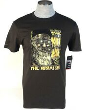 Under Armour Phil Robertson Arise Kill Eat Black Short Sleeve T Shirt Mens NWT
