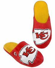 Kansas City Chiefs Mens Slippers - Choose your Size