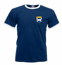 Scotland Scottish Rugby / Football Soccer Crest T-Shirt - All Sizes Available