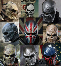 TACTICAL GEAR M06 AIRSOFT PAINTBALL COSPLAY FULL FACE PROTECTION SKULL MASK