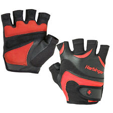 Harbinger 138 FlexFit Lifting Gloves - Black/Red