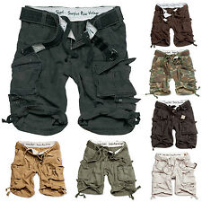 SURPLUS CARGO SHORTS DIVISION CHINO JEANS Airborne Legend Industry Trousers