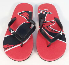 American Eagle Outfitters Red & Black Thong Sandals Flip Flops Mens NEW
