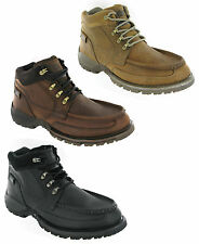 CAT Caterpillar Corbett Leather Ankle Casual Walking Boots Mens UK6-12