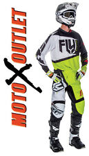 2017 Fly Racing F-16 Jersey & Pant Motocross Gear Package Green F16 Kids Adult