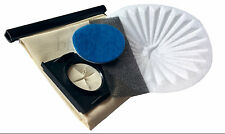 Re-usable Washable Cloth Dust Bag & Filter Kit for VAX Canister Wet & Dry vacs