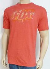 Fox Racing Fox Sidewinder Graphic Tee Mens Pale Red T-Shirt Cotton Blend New NWT