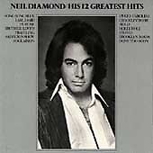 "NEIL DIAMOND His 12 Greatest Hits  (CD, Sep-1996, MCA)  ""MINT"""