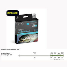 Rio InTouch Coldwater Outbound Short Fly Line, F/I, Free Ship & Backing!