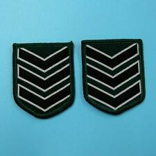 2 Army Military Police Insignia Sew on Embroidered Patch Badge Applique Biker