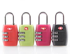 New Security 3 Combination Travel Suitcase Luggage Bag Code Lock Padlock For TSA