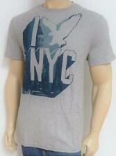 American Eagle Outfitters I-NYC Mens Gray 100% Cotton T-Shirt New NWT