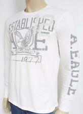 American Eagle Outfitters AEO 12 Mens White Long Sleeve Shirt New NWT
