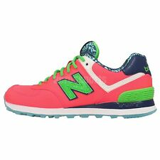 New Balance WL574ILC B Luau Pack Pink Womens Running Shoes Sneakers WL574ILCB