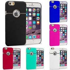 For iPhone 6S Plus (5.5) Hard Deluxe Chrome Rear Slim Case Cover Accessory
