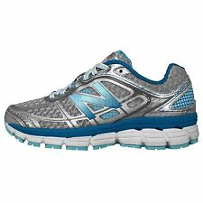 New Balance W860SB5 D V5 Grey Silver Blue Womens Running Shoes W860SB5D