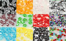 Wholesale Lots beautiful 4mm  Bicone Crystal Loose spacer beads