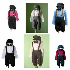 Boys Infant Toddler Knickers Vintage Outfit Set, Many colors, Size 6 Month to 4T