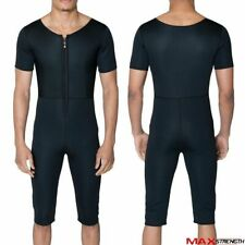 Compression Slimming Gym Exercise Track Suit Weight Loss Sauna Sweat Tracksuit