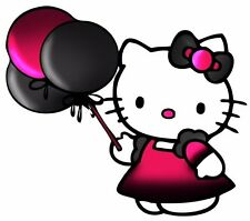"5.5-9.5"" HELLO KITTY BALLOON  WALL SAFE STICKER BORDER CUT OUT CHARACTER"