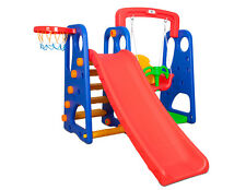 Beryl Slide and Swing Set with Basketball Hoop. For Children Aged 12mth+
