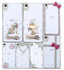 Hot Shine Bling clear Crystal Diamond hard Back Case Cover for Sony Xperia Z2