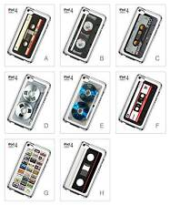 Cassette Tape Vintage Retro Quirky Hard Back Cover Case for iPod Touch 4 4th Gen