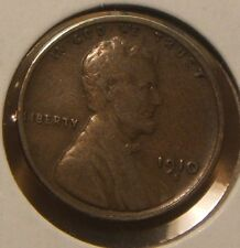 1910 S~~ LINCOLN  WHEAT CENT~~VG-F~~TOUGH DATE