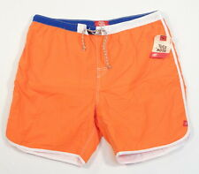 Toes on The Nose Orange Brief Lined Swim Trunks Boardshorts Mens NWT