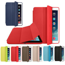 Leather Smart Case Magnetic Cover Slim Wake Protector For iPad mini 4 Case