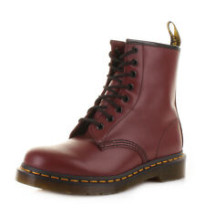 Dr Martens Unisex Womens Mens Cherry Red 1460 8 Eye Leather Ankle Boot Size 3-12