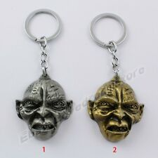 The Lord Of The Rings The Hobbit Gollum Mask 11cm Key Ring Chain New In Box