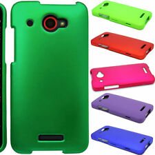 Hard Rubberized Thin Snap On Protective Phone Cover Case for HTC Droid DNA 6435