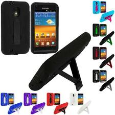 Hybrid Heavy Duty Case Cover Stand for Samsung Sprint Galaxy S2 II Epic Touch 4G