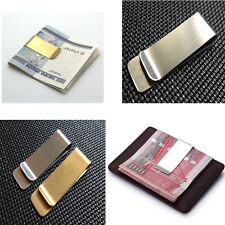NEW chic Metal Money Clip 2 Colors Man Clamp Holder For Money Wallet Silver/Gold