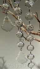 ACRYLIC CRYSTAL GARLANDS WITH TEAR SHAPE DROPLET WEDDING TABLE WISHING TREE