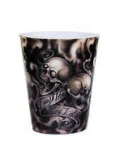 Laugh Now Cry Later Tattoo Plastic Shot Glass