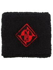 Machine Head Logo Black and Red Sweatband - NEW & OFFICIAL