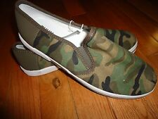 Ruum American Kids Wear Boys Youth Slip On Shoes Sneakers Loafers Camouflage New
