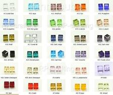50 Top Quality 8mm Austria cube crystal beads Charms For Swarovski #5601-U pick
