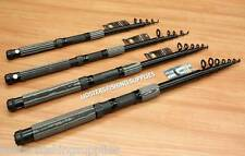 2 x LINEAEFFE CARBON OXYGEN TELECSOPIC TRAVEL FISHING RODS 7FT 8FT 10FT OR 12FT