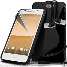 S-Line Wave Gel Case?In Ear Stereo Headset for HTC One A9